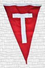 big game Tag flag  Size : Height: 31cm/12in x Width: 44cm/17in