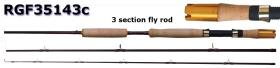 Osprey high carbon fly rods. Fly rods with fighting end butt. Fly rods from #6~#10
